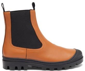 Loewe Toe-cap Leather Chelsea Boots - Tan