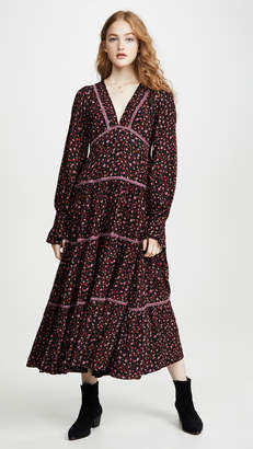 Free People Take A Little Time Midi Dress