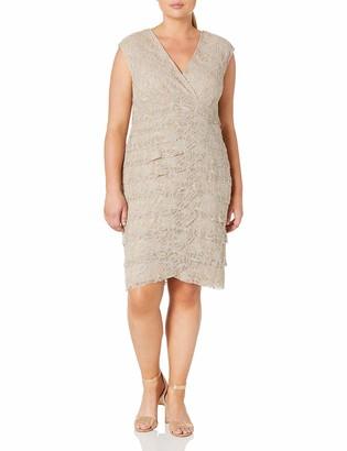 Jessica Howard JessicaHoward Women's Plus Size Surplus Lace Gown