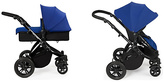 Ickle bubba Stomp V2 2-in-1 Pushchair Blue and Black