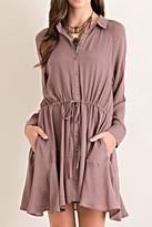 Entro Shirtwaist Dress