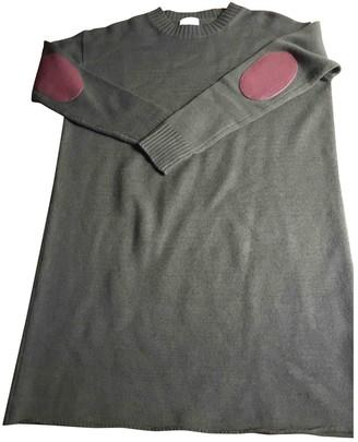 Laurence Dolige Green Wool Dress for Women