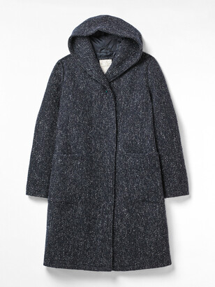 White Stuff Hooded Wool Coat