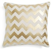 Levtex Gold Zigzag Print Pillow
