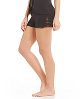 PJ Salvage All Tied Up Faux-Strappy Sleep Shorts