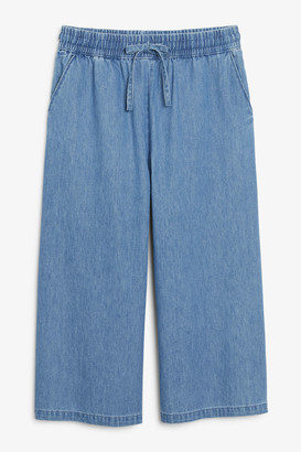 Monki Denim culottes