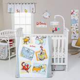 Trend Lab Dr. Seuss Friends 5 Piece Crib Bedding Set