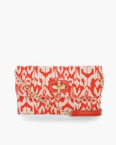 Chico's Idra Ikat Clutch