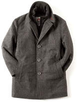 Appaman Herringbone City Overcoat, Size 2T-10