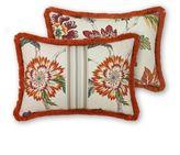 Rose Tree Lisburn Boudoir Throw Pillow in Orange