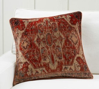 Pottery Barn Parasha Printed Velvet Pillow Cover