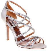 Badgley Mischka Meghan Shoe with Rhinestone Straps