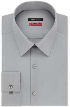 Van Heusen Men's Slim-Fit Flex Collar Stretch Solid Dress Shirt