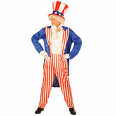 Asstd National Brand Uncle Sam 4-pc. Dress Up Costume