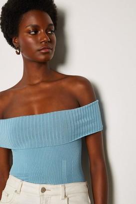 Karen Millen Bardot Knit Top