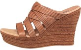 UGG Womens Melinda Wedge Sandals Suntan