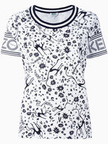 Kenzo multi print T-shirt - women - Cotton - S