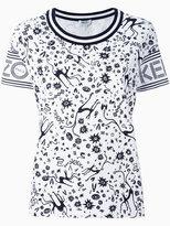 Kenzo multi print T-shirt - women - Cotton - XS
