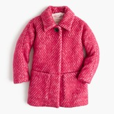 J.Crew Girls' diamond tweed coat