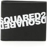 DSQUARED2 Mirrored Logo Bi-fold Wallet