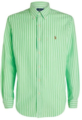 Ralph Lauren Custom Fit Striped Oxford Shirt