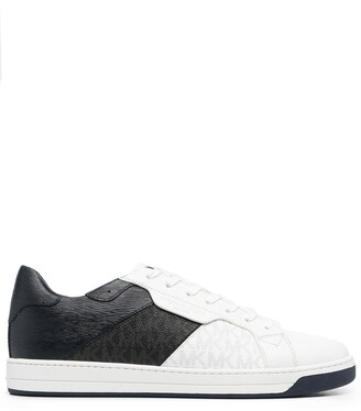 MICHAEL Michael Kors Two-Tone Low-Top Sneakers