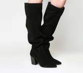 Office Kola Slouch Suede Knee Boots