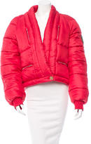 Chanel Silk Puffer Jacket