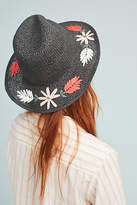 Anthropologie Jana Floral Fedora