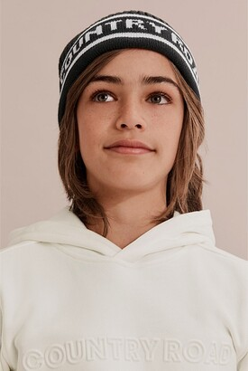 Country Road Logo Knit Beanie