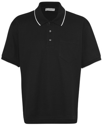 Givenchy Cropped printed polo shirt