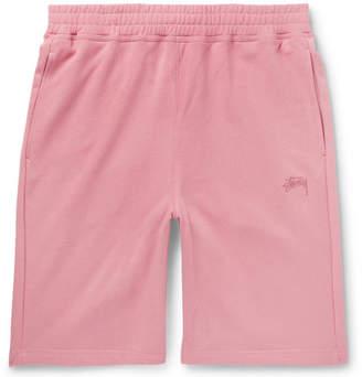 Stussy Stock Loopback Cotton-Jersey Shorts