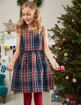 Boden Check Party Dress