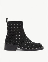 Thumbnail for your product : Zadig & Voltaire Empress studded suede ankle boots