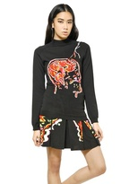 Christopher Kane Lightning Strike Wool Knit Sweater
