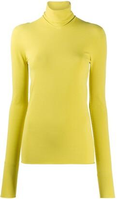 Bottega Veneta Roll Neck Long-Sleeved Top