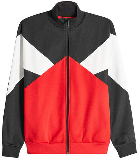 Maison Margiela Retro Track Jacket with Zipped Front