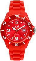 Ice Watch Ice-Watch Watch, Women's Sili Forever Red Silicone Strap 43mm 101970