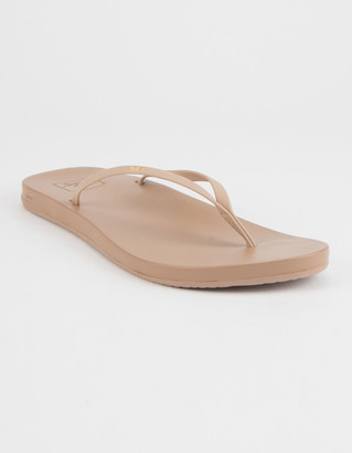Reef Cushion Bounce Slim Nude Womens Sandals