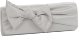 J. Furmani Women's 50148 Satin Bow Clutch