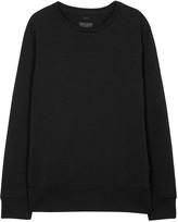 Tiger Of Sweden Damon Charcoal Cotton Sweatshirt