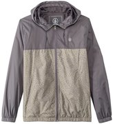 Volcom Men's Ermont Zip Up Windbreaker Hoodie 8139639