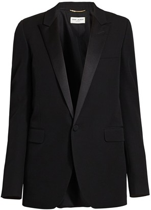 Saint Laurent Classic Wool Blazer