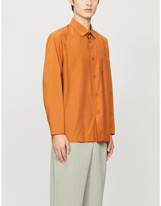 Homme Plissé Issey Miyake Relaxed-fit woven shirt