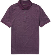 Michael Kors - Slim-fit Cotton-jacquard Polo Shirt