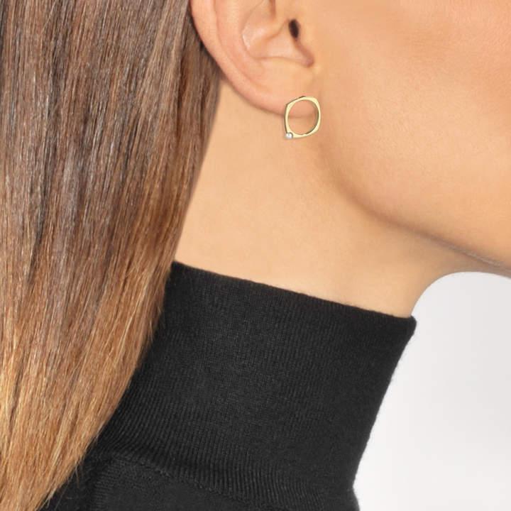 ALIITA Earrings in 9K Yellow Gold with Pearl