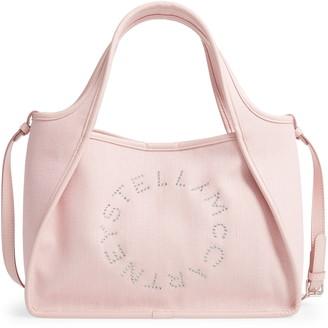 Stella McCartney Eco-Linen Crossbody Tote Bag