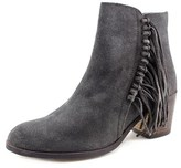Kenneth Cole Reaction Rotini Women Round Toe Suede Gray Ankle Boot.