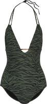 Melissa Odabash Casablanca zebra-print swimsuit