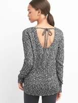 Gap Tie-back scoopneck pullover
